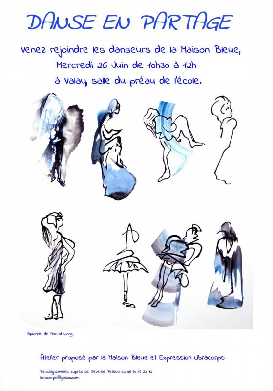 Danse en partage maison bleue